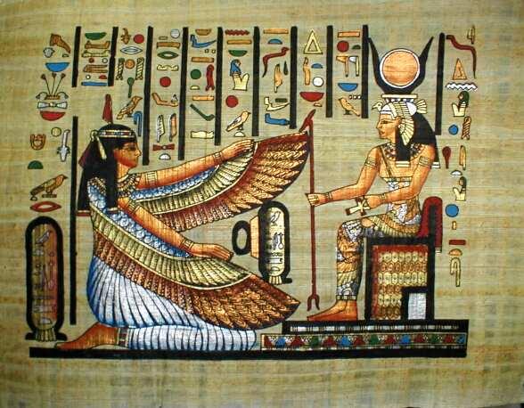 La venerada Diosa Isis, del antiguo Egipto.