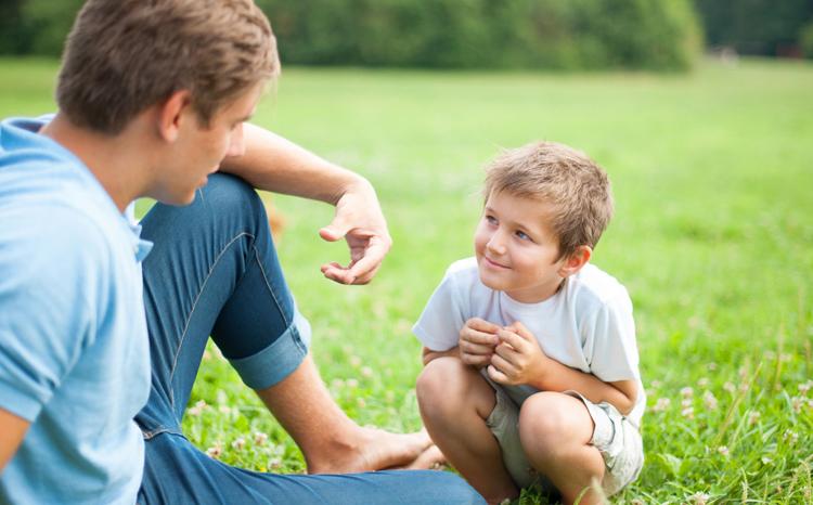 El diálogo, las conversaciones con nuestros hijos son básicas e importantes