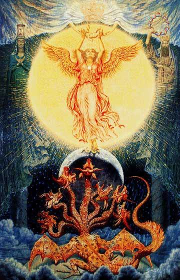 Cuando la conciencia es liberada de los 7 pecados capitales, se puede unir al Espíritu.