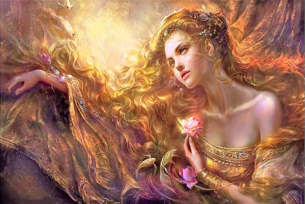 La mujer es la depositaria de todos los valores de la naturaleza.